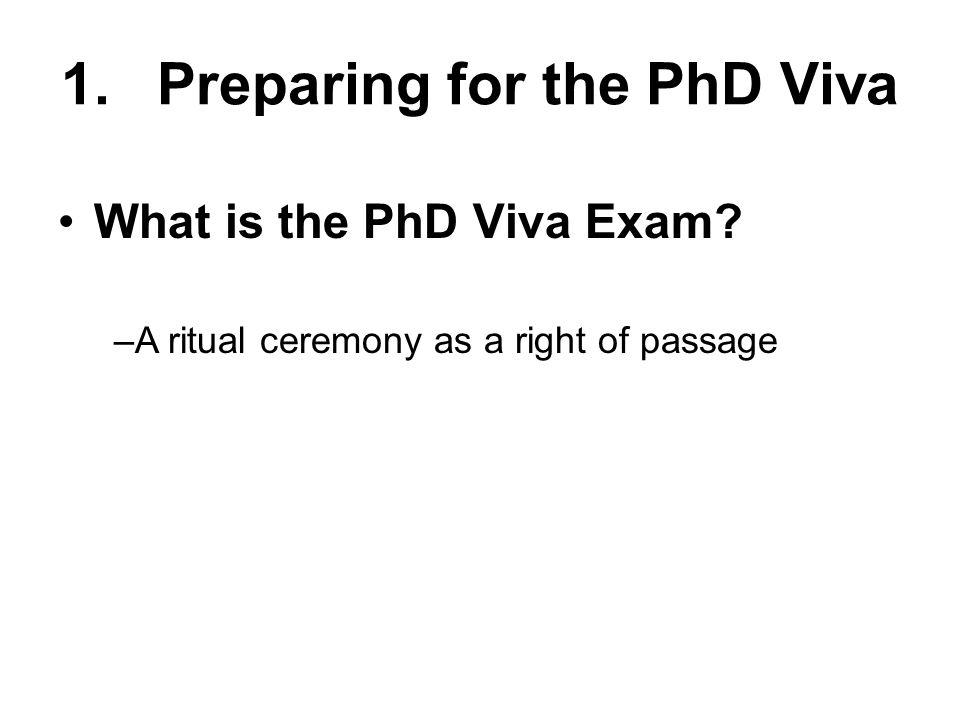 5.Useful References Google PhD Viva - caution.