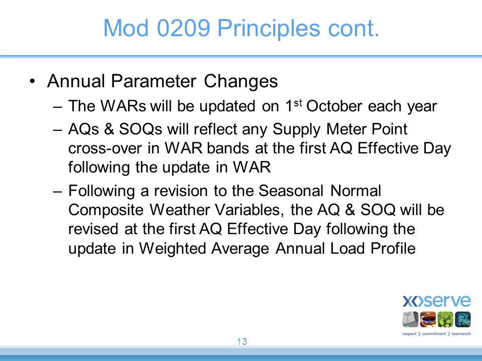 13 Mod 0209 Principles cont.