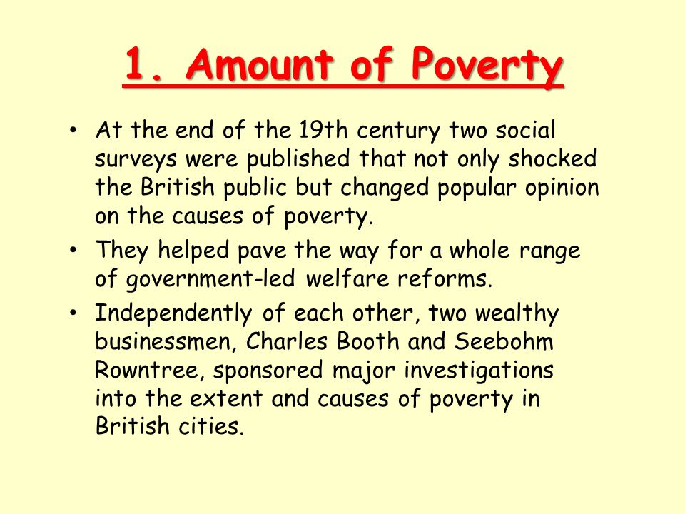 Charles Booth The survey into London life and labour . Click on image to view video clip.