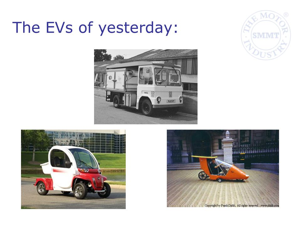 The EVs of yesterday: