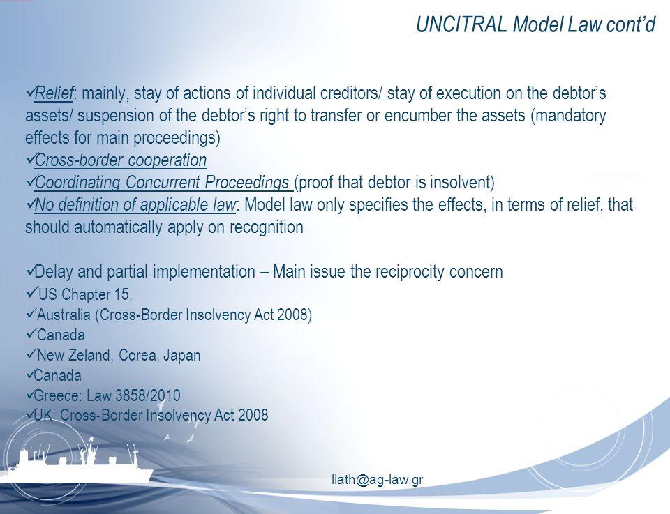 liath@ag-law.gr International initiatives Reg.