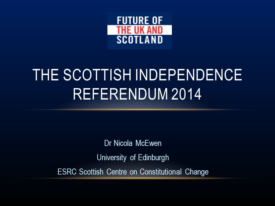 Should Scotland be an independent country? If more people vote 'Yes' than vote 'No' in the referendum, Scotland would become an independent country.