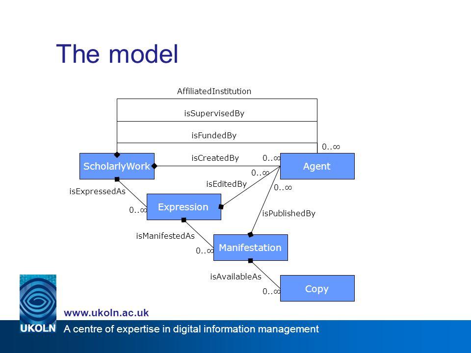 A centre of expertise in digital information management www.ukoln.ac.uk Vertical vs.
