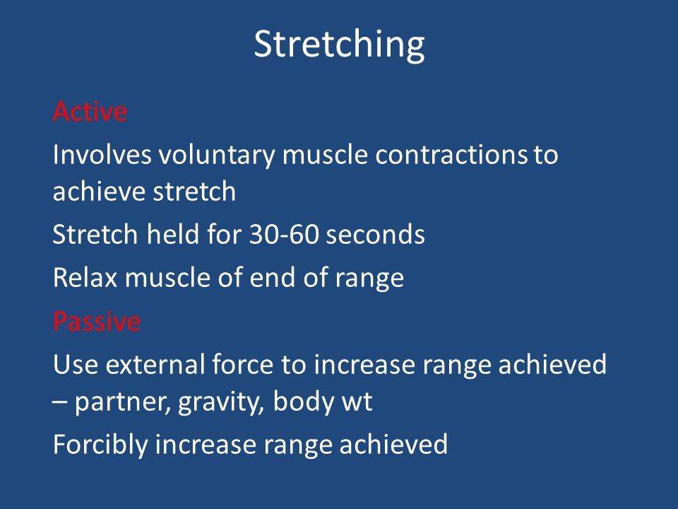 Fitness – flexibility Move joints through a wide range of movement (ROM) Most activities because of need to stretch to reach Limits to movement – bone