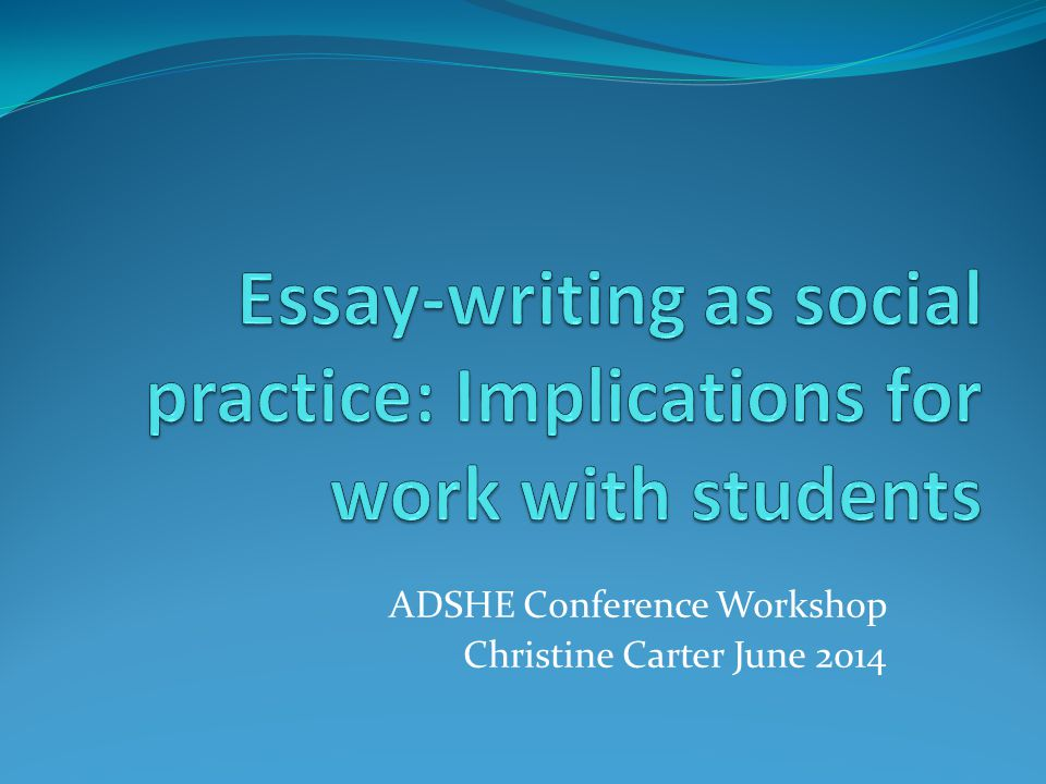 Background Problem Mainstream social practice approach to writing Our requirement to relate writing problems to dyslexia