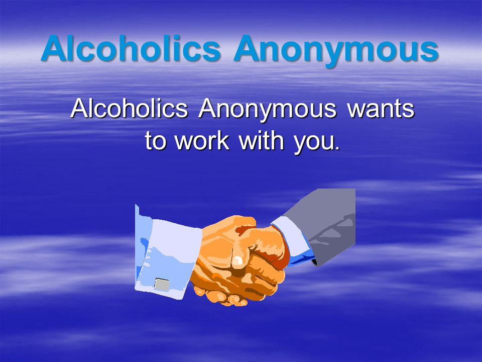AA In Devon  61 Meetings in the Devon Central Area  Morning, lunchtime and evening meetings  365 days a year – 7 days a week  Open and Closed meetings  24 hour Helpline Immediate response  Public Information and Health Liaison  Devon AA website – Contact numbers, List of meetings, Links to other AA sites