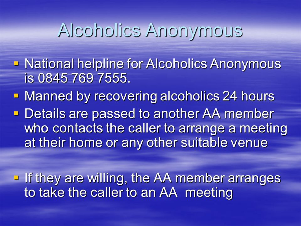 AA has volunteer members who work as Service Officers.