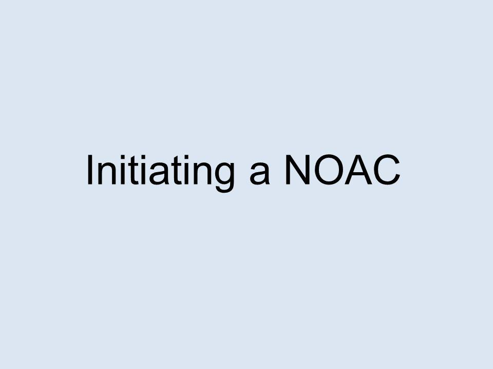 Referral is appropriate if: Patient has complex co-morbidities GP does not know what to do/ cannot weigh up pros and cons of anticoagulation in whatever form Criteria and strong recommendations for NOAC satisfied but GP does not feel competent to prescribe a NOAC