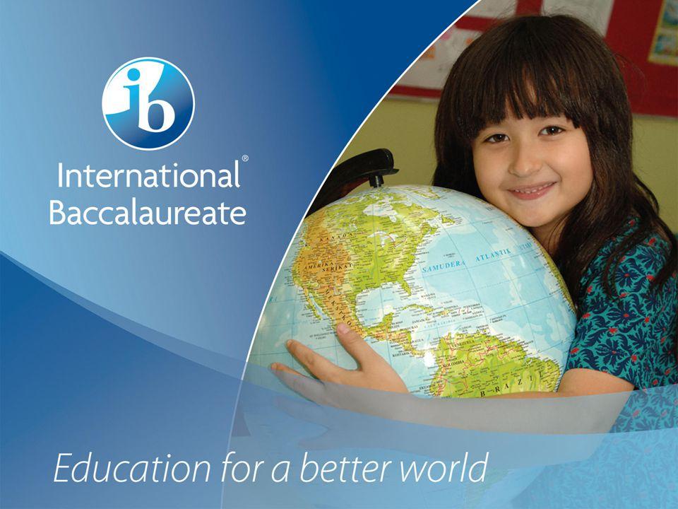 © International Baccalaureate Organization 2007 Page 13