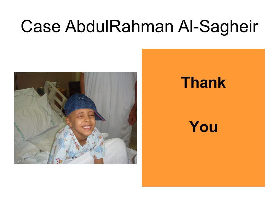 Case AbdulRahman Al-Sagheir Thank You