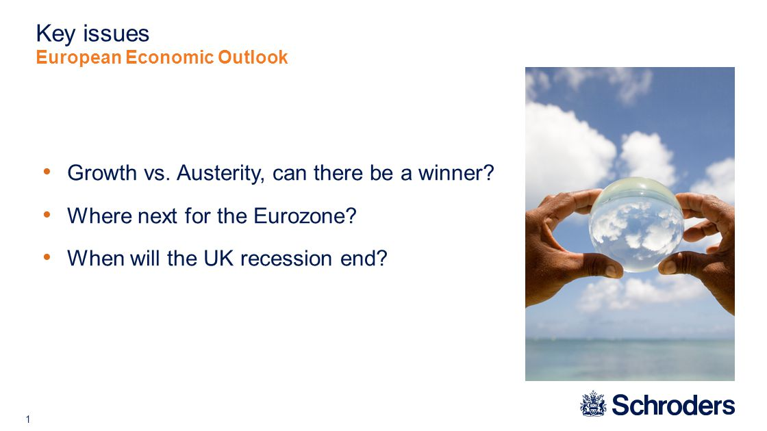 12 Who will suffer if the Eurozone goes into recession.