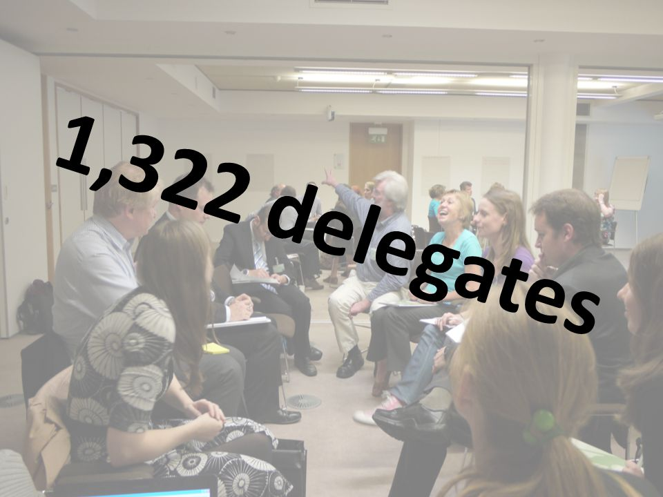 1,322 delegates
