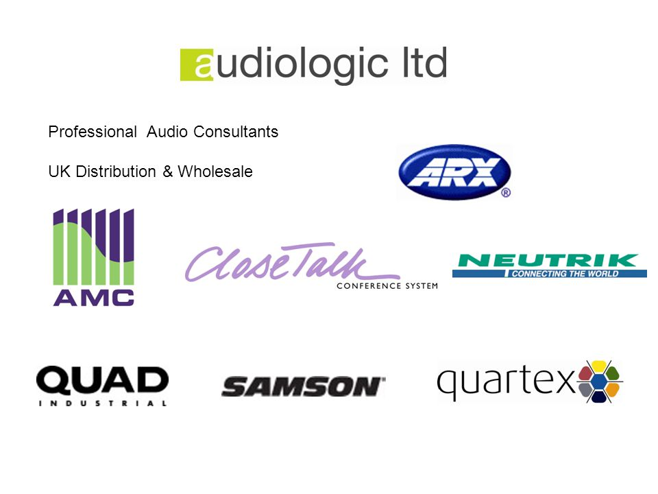 Professional Audio Consultants UK Distribution & Wholesale