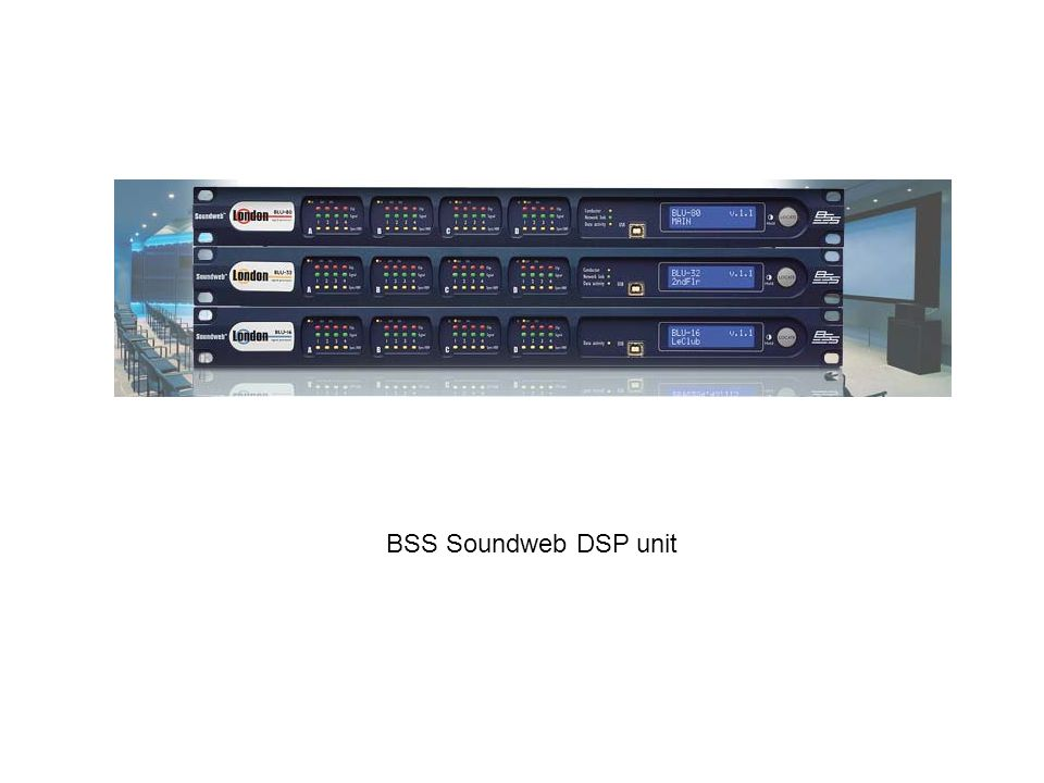 BSS Soundweb DSP unit