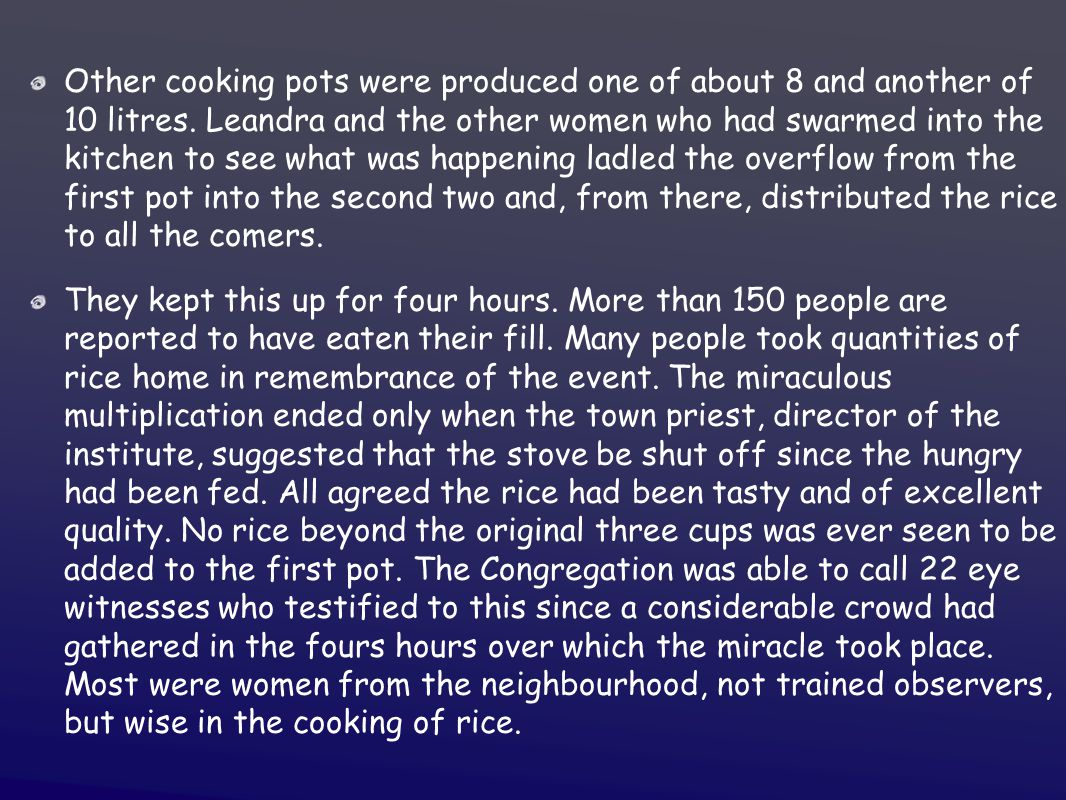 Other cooking pots were produced one of about 8 and another of 10 litres.