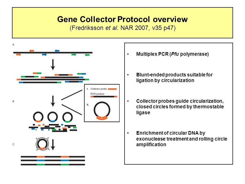 Gene Collector Protocol overview (Fredriksson et al.
