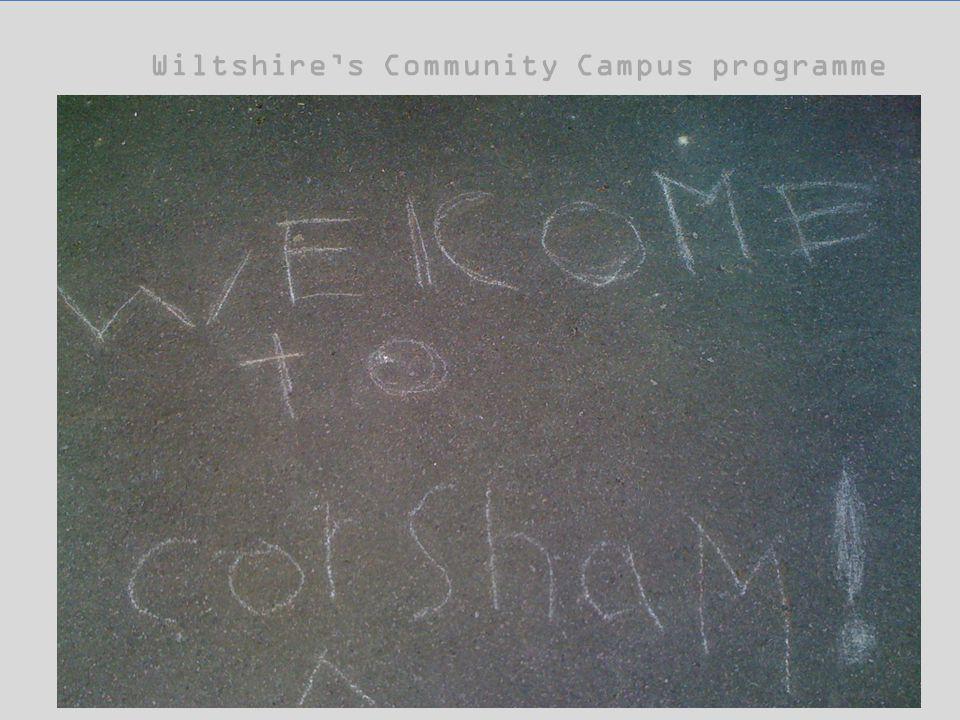 Wiltshire's Community Campus programme