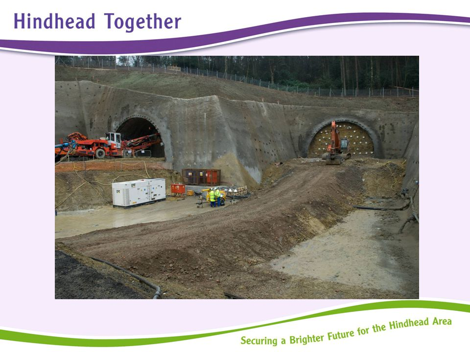 Hindhead Together – The Wider Work  Working with Landowners to secure high quality redevelopment plans  Consideration of Community Infrastructure; services and amenities for the area, if appropriate  Green Infrastructure Plan for Hindhead  Communications Strategy for the partnership's ongoing work