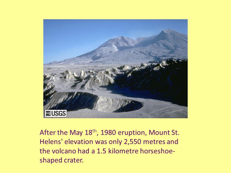 Five more explosive eruptions of Mount St.
