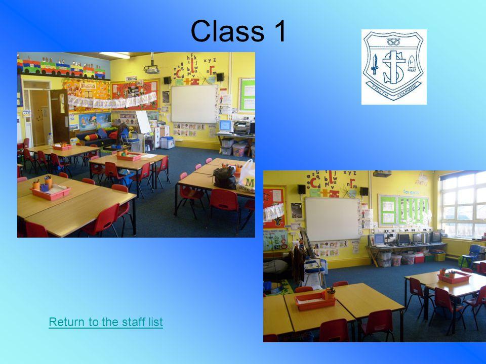 Class 2 Return to the staff list