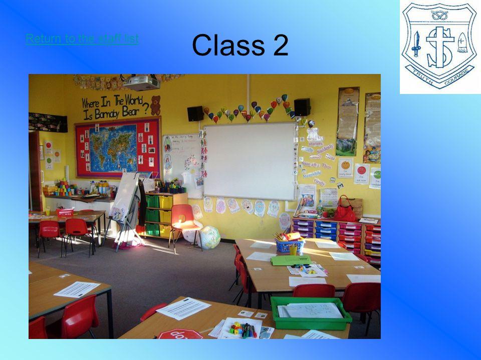 Class 3 Return to the staff list
