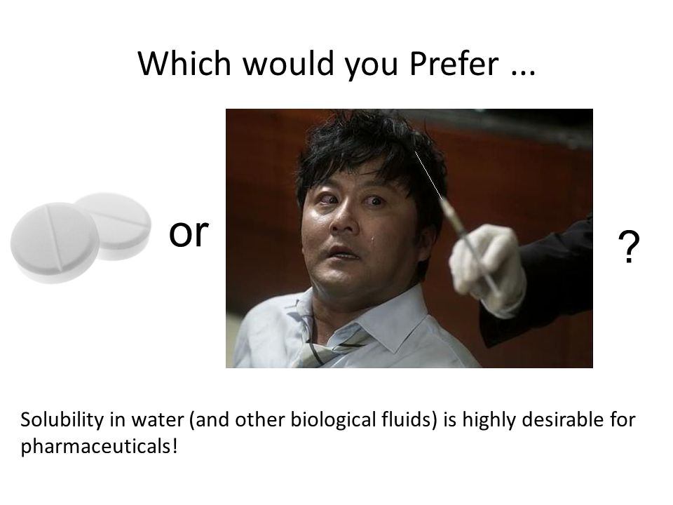 Which would you Prefer...