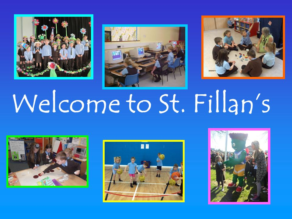 Welcome to St. Fillan's