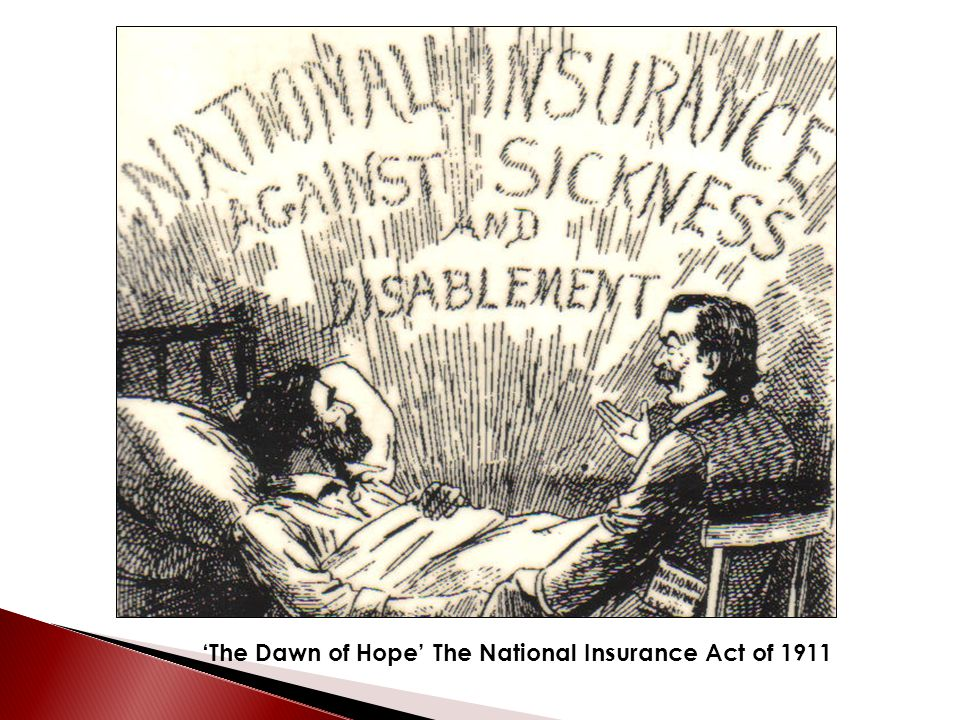 'The Dawn of Hope' The National Insurance Act of 1911
