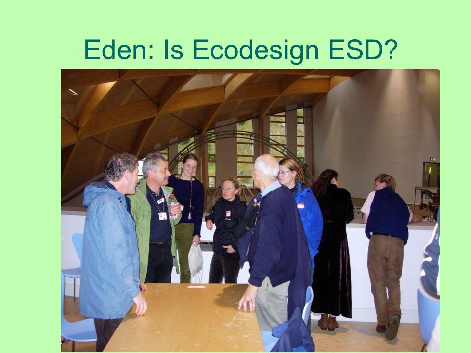 Eden: Is Ecodesign ESD?