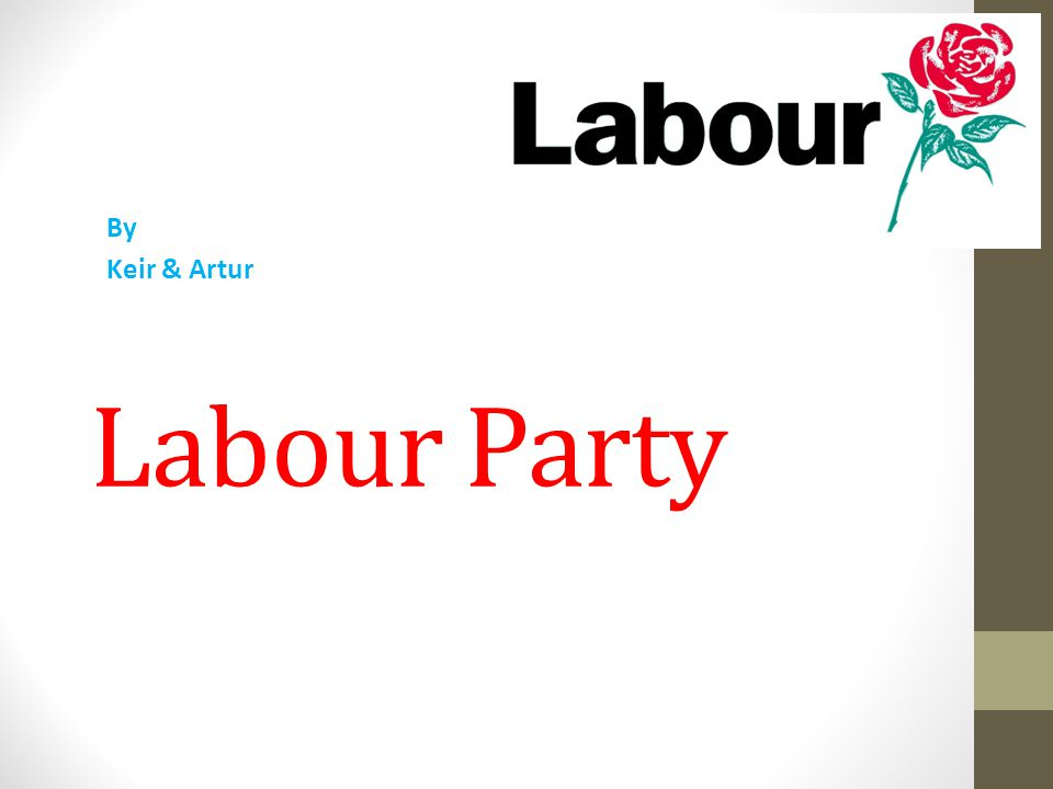 What Labour stands for.