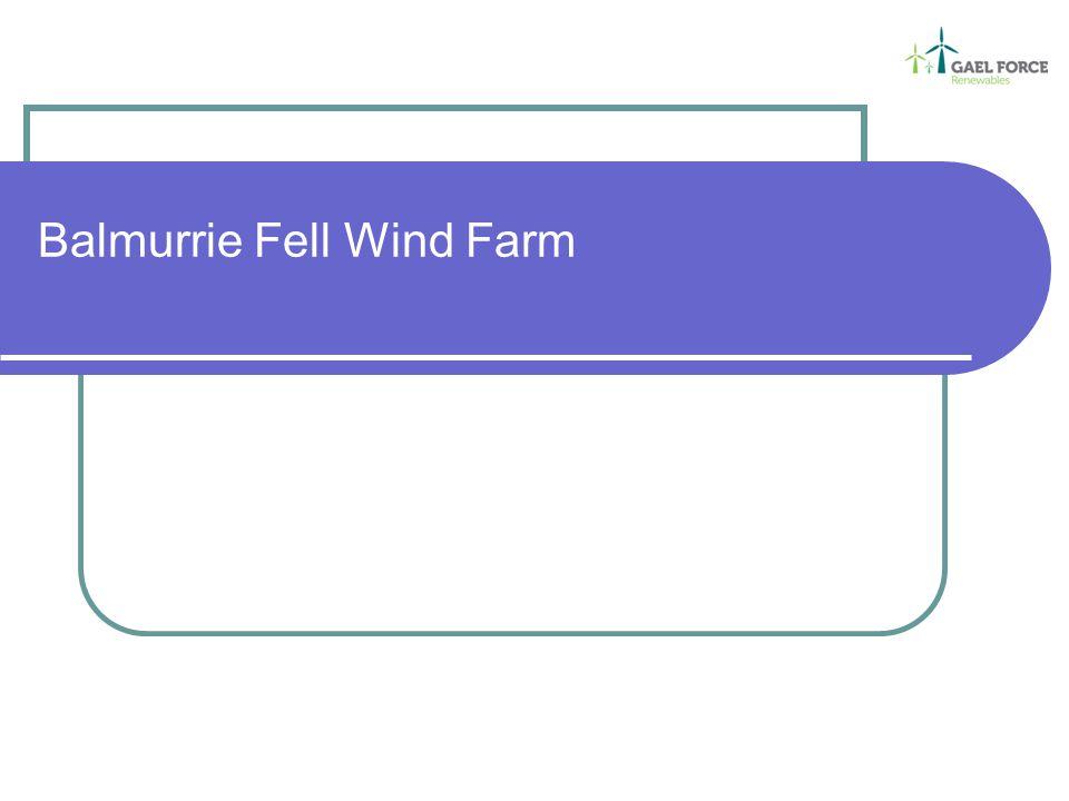 Balmurrie Fell Wind Farm