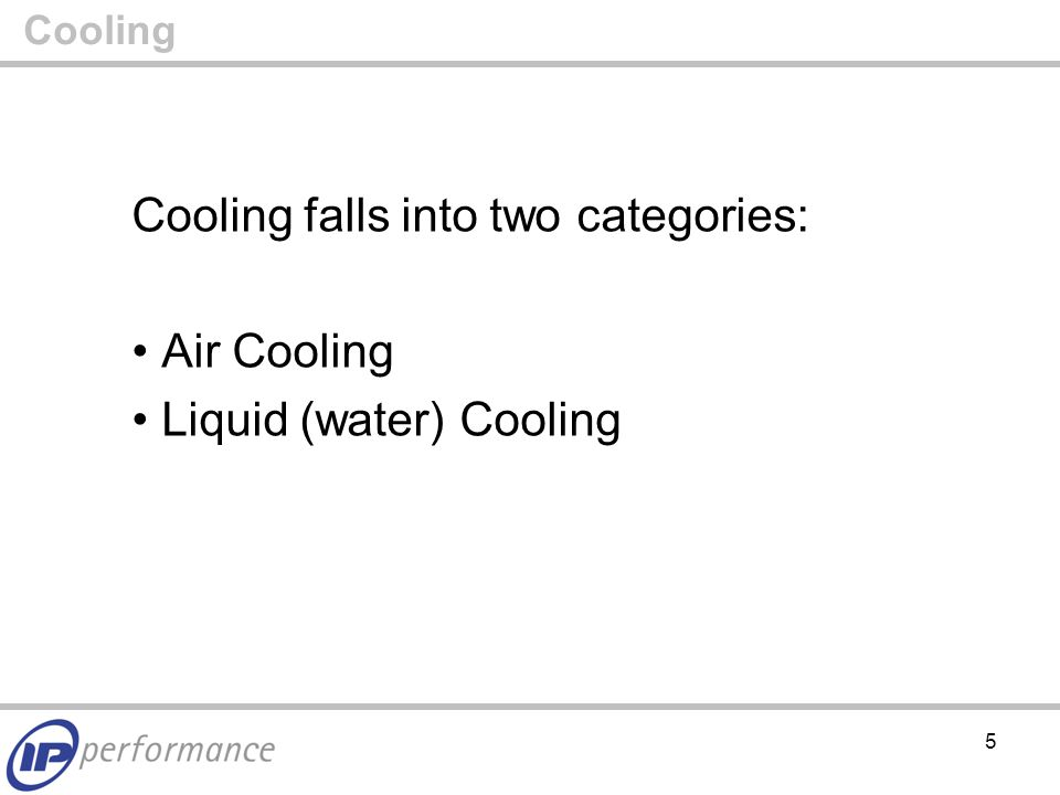 6 Air Cooling The traditional way of cooling a Data Centre Computer Room: CRAC (Computer Room Air Conditioner) Water Chiller Cold Aisle/Hot Aisle Configuration Cooling> Air Cooling