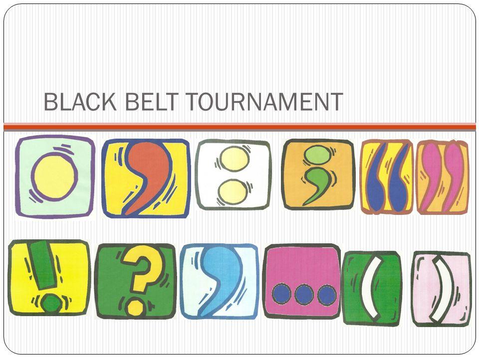 BLACK BELT TOURNAMENT