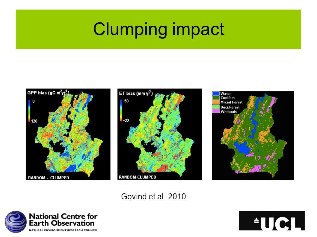 Clumping impact Govind et al. 2010