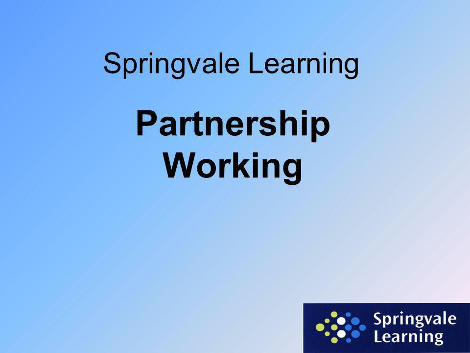 Springvale Learning Partnership Working