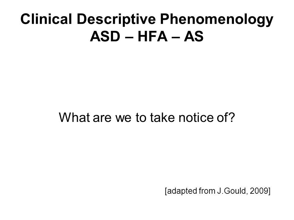 Not addressing …. DSM V (?final version, Feb. 2012) v ICD11 (summer 2014?)