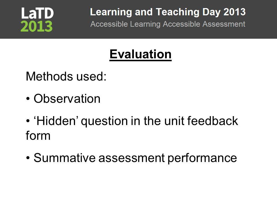 Task 1 Written Task 2 Peer Assessment Task 3 Written Task 4 Written Tutorial Participation in tasks 3738342746 Class attendance 5550464846 Participation % 67%76%74%56%100% 1.