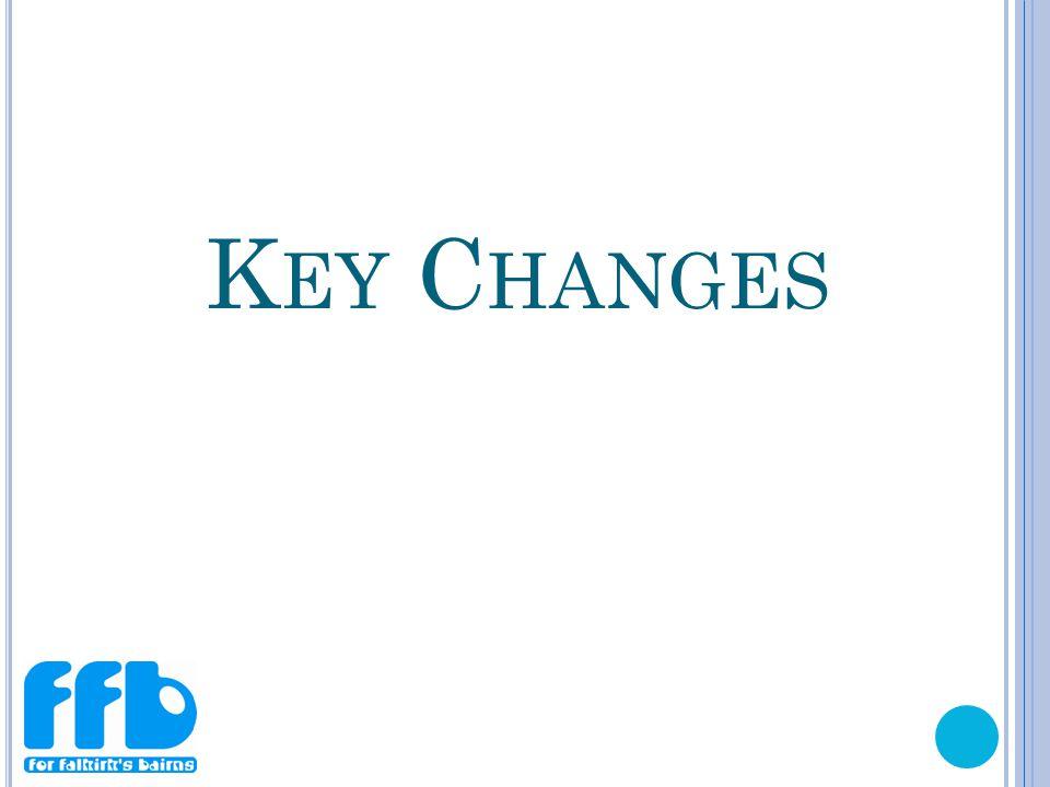 K EY C HANGES