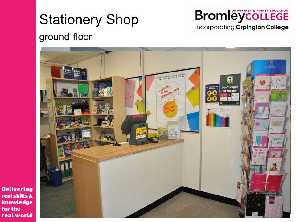 Stationery Shop ground floor