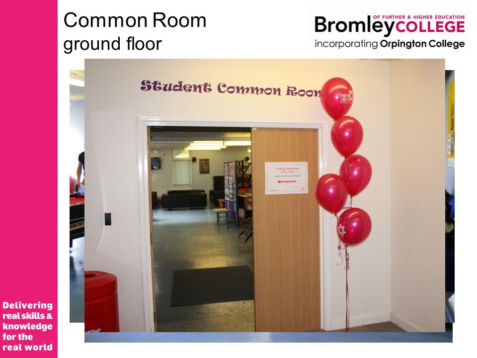 Common Room ground floor