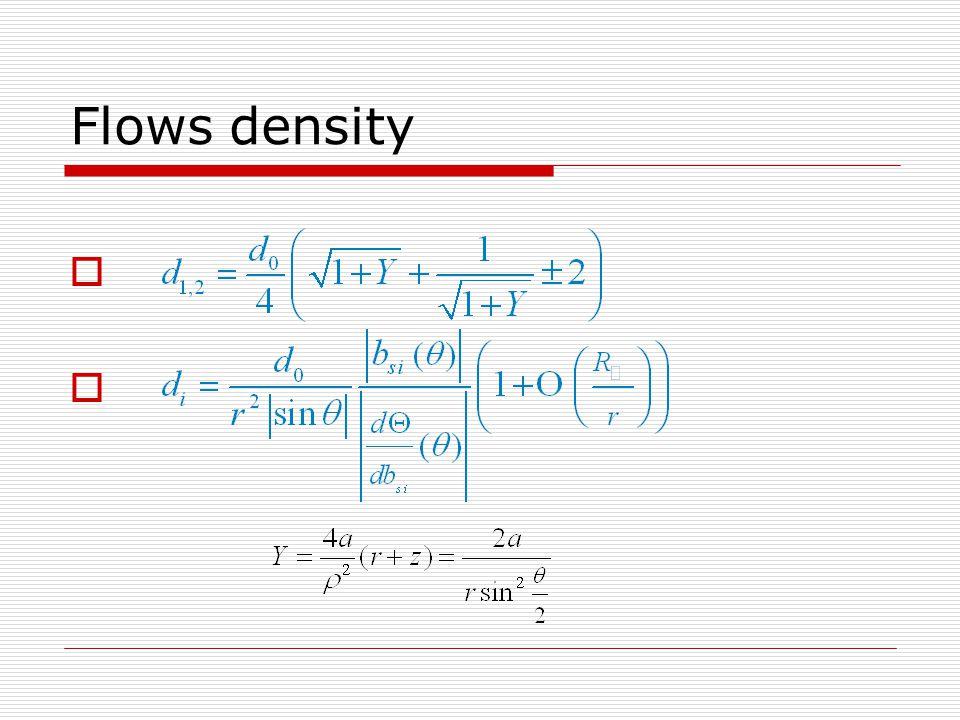 Flows density    