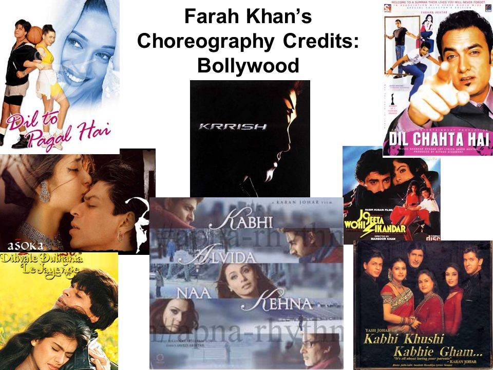 Farah Khan's Choreography Credits: Bollywood