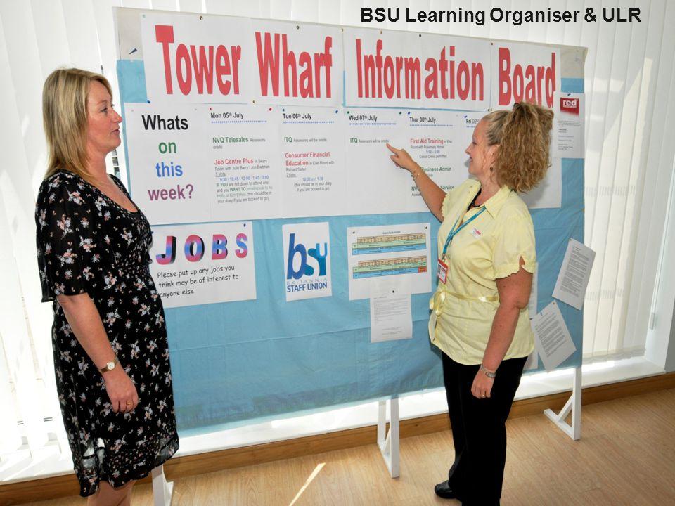 unionlearn presentation 4 BSU Learning Organiser & ULR