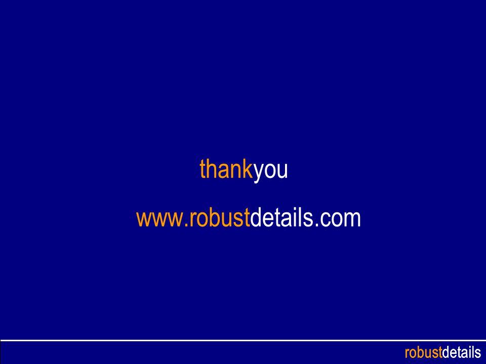 robustdetails thankyou www.robustdetails.com