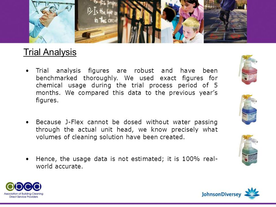 Trial analysis figures are robust and have been benchmarked thoroughly.