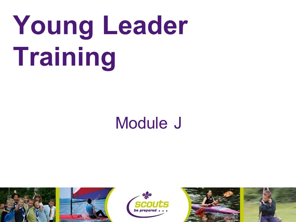 Young Leader Training Module J