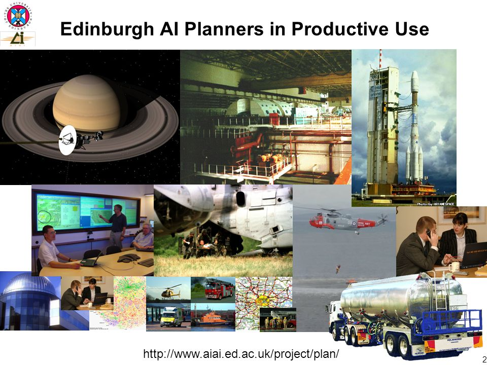 2 Edinburgh AI Planners in Productive Use
