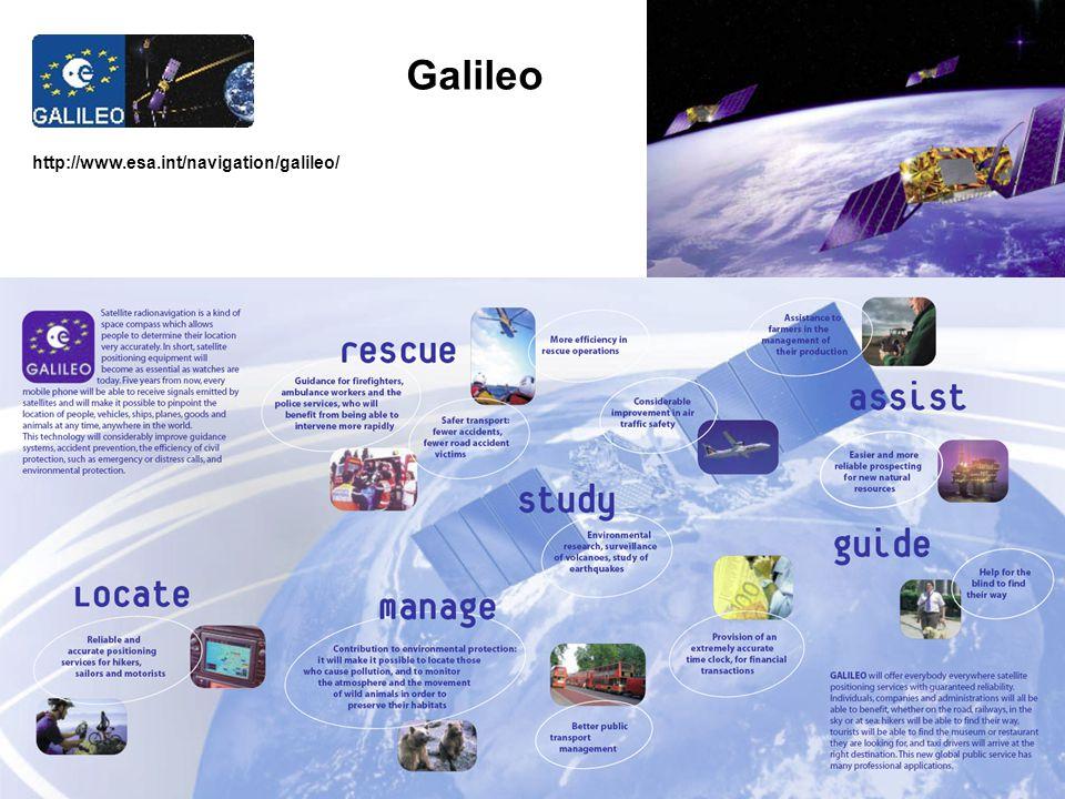 http://www.esa.int/navigation/galileo/ Galileo