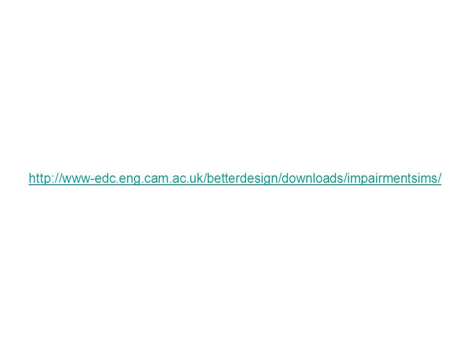 http://www-edc.eng.cam.ac.uk/betterdesign/downloads/impairmentsims/