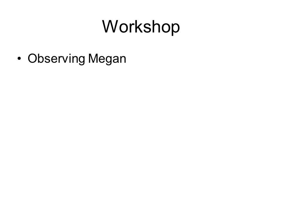 Workshop Observing Megan